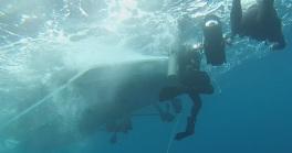 Underwater film-making